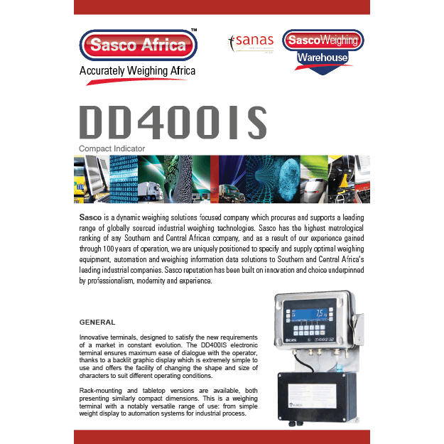 DD400IS Indicator