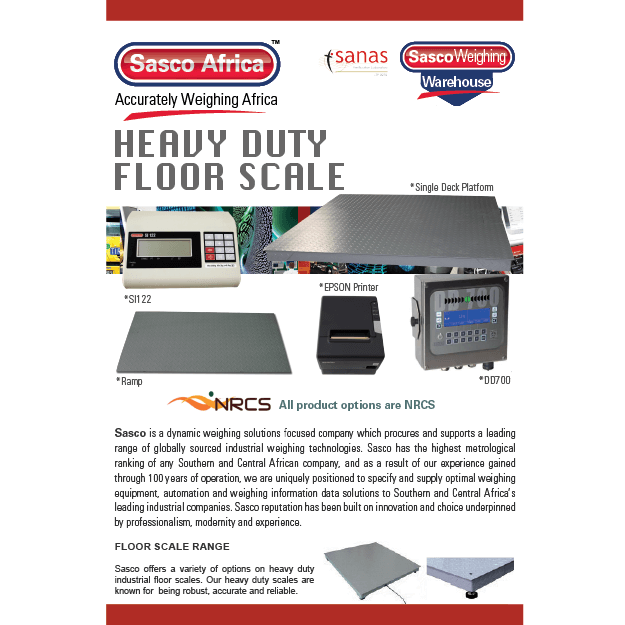 Heavy Duty Floor Scale